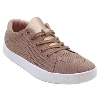 "Blue Womens ""DAMINO-4"" Casual Fashion Sneakers Shoes"