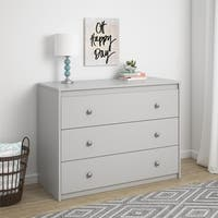 Avenue Greene Raven Grey 3 Drawer Dresser