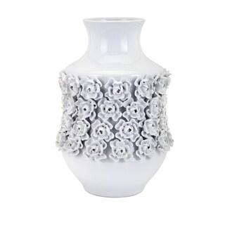 Bella White Large Vase