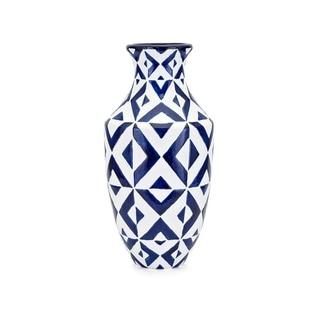 Bindi Blue and White Vase