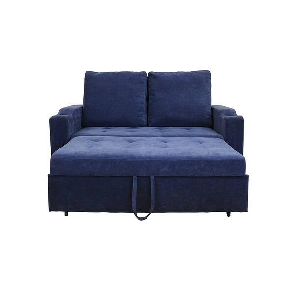 Shop Mini Max Decor Modern 2 in 1 Pullout Sofa Large - Free ...