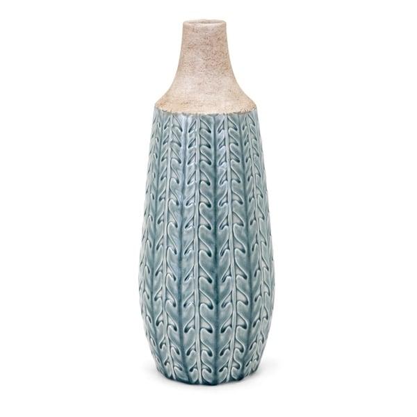 Clara Soft Blue Large Vase