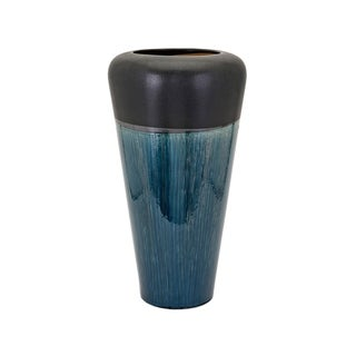 Hudson Blue and Black Small Vase