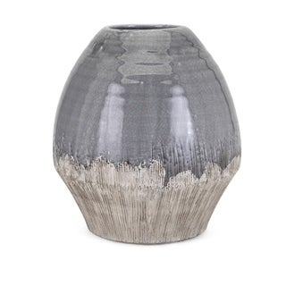 Edwin Grey and Brown Large Vase