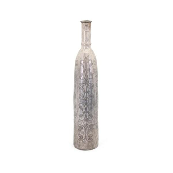 Frost Beige Medium Oversized Vase