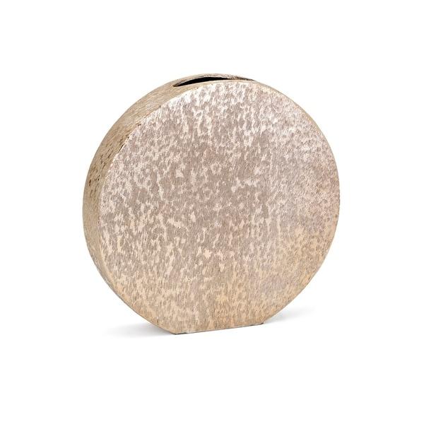 Nalani Gold Small Disc Vase