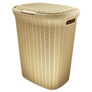 Wee's Beyond W08-1076 Knit Style Laundry Hamper 55 Liters