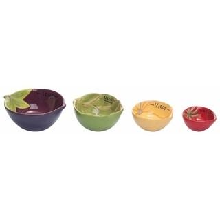 Dol Vegetables Measuring Cups S/4