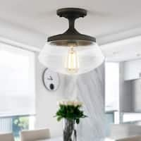 Light Society Crenshaw Clear Glass Ceiling Light
