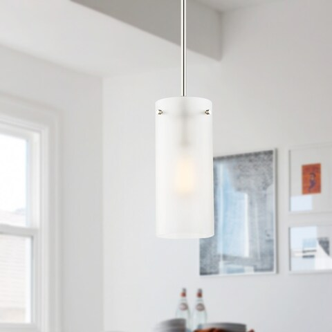 Light Society Montreal Frosted Glass Pendant