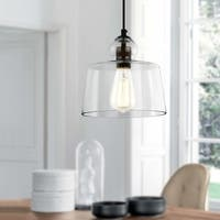 Light Society Tripoli Clear Glass Pendant Light