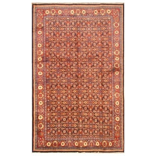 Handmade Mimana Wool Kilim (India) - 6'7 x 9'3
