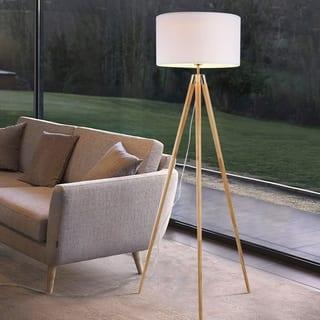 Wood floor lamps for less overstock light society celeste tripod floor lamp aloadofball Choice Image
