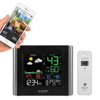La Crosse Technology V10-TH Color Wireless WIFI Weather Station