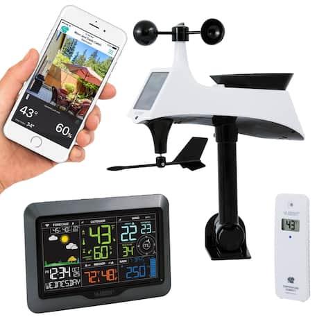 La Crosse Technology V40-PRO Wireless WIFI Professional Weather Center