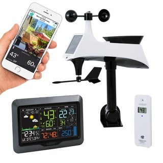 Link to La Crosse Technology V40-PRO Wireless WIFI Professional Weather Center Similar Items in Decorative Accessories