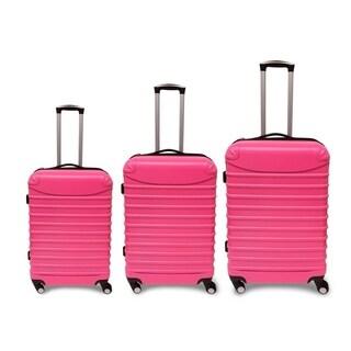 "Golden Hills Savanna 20/24/28"" 3PCS Hardside Expandable Luggage Set (3 options available)"