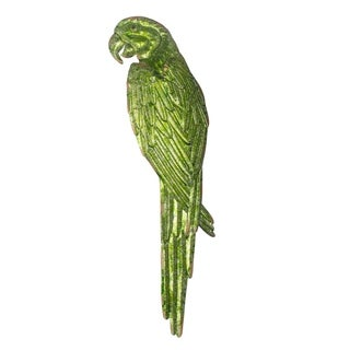 Suvi Iron Parrot Wall Art, 9.5x35.5 inches