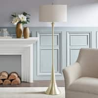 Madison Park Bennett Gold Floor Lamp