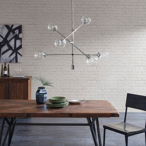 Carson Carrington Ukmerge Silver Chandelier