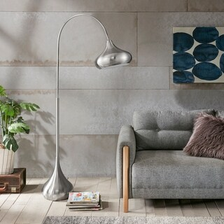 Ink and Ivy Arlo Silver Floor Lamp