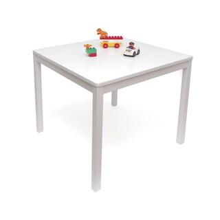 Child's Square Table, White