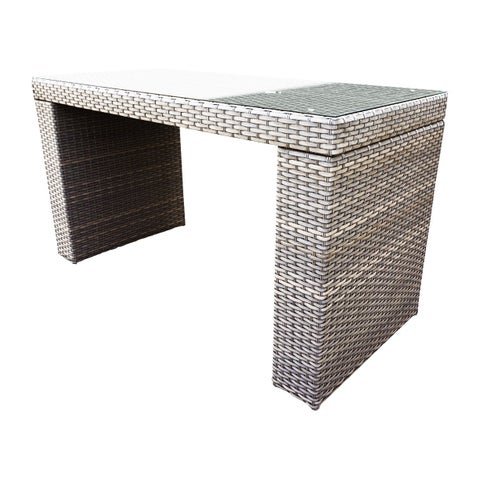 Sea Breeze OH0609 Outdoor Patio Wicker Bar Table
