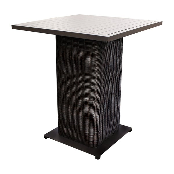 Calypso Oh0723 Outdoor Patio Wicker Pub Table On Free Shipping Today 21164107