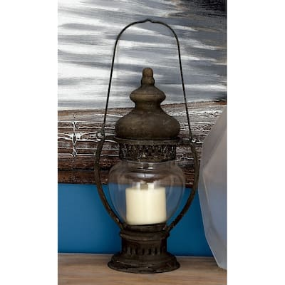 Red Lantern Candles Candle Holders