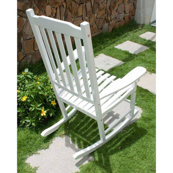 Phenomenal Shop Havenside Home Togiak Traditional Rocking Chair Free Caraccident5 Cool Chair Designs And Ideas Caraccident5Info