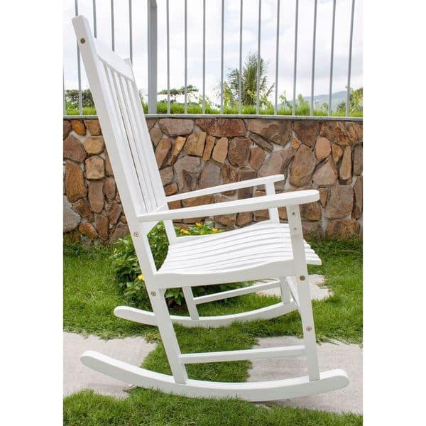 Terrific Shop Havenside Home Togiak Traditional Rocking Chair Free Caraccident5 Cool Chair Designs And Ideas Caraccident5Info