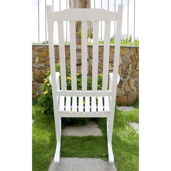 Brilliant Shop Havenside Home Togiak Traditional Rocking Chair Free Caraccident5 Cool Chair Designs And Ideas Caraccident5Info