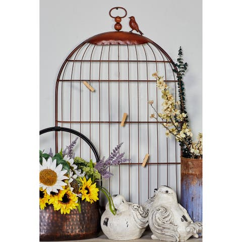 The Curated Nomad Jiminez Bird Cage Photo Holder