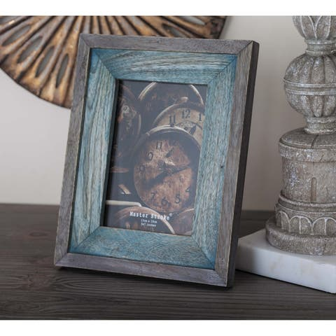 The Gray Barn Royal Oak Grey/Brown Wood Picture Frame