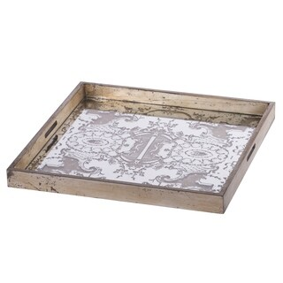Idony Classic Mirrored Tray, 20x20 inches