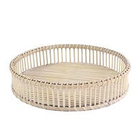 Rattan Tray, 14.5x3 inches