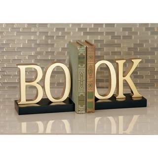 Copper Grove McNallie Wood Bookend (7 X 6)