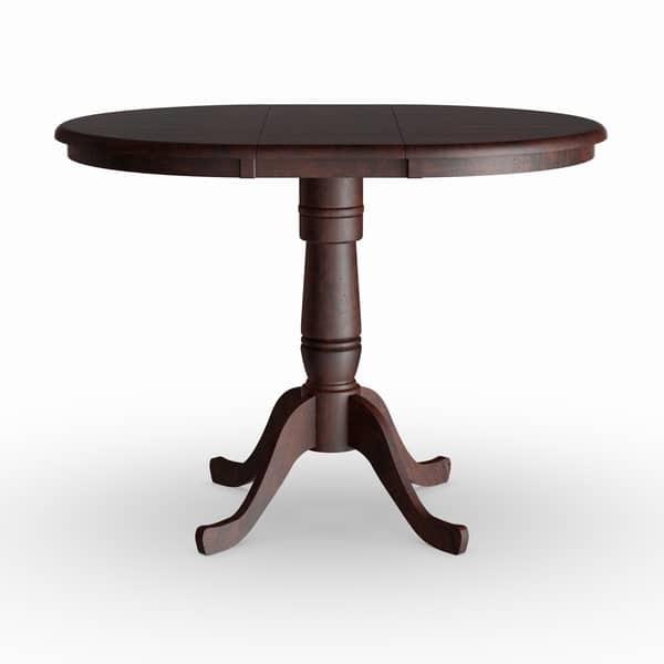 Copper Grove Jefferson 36 Inch Round Pedestal Table