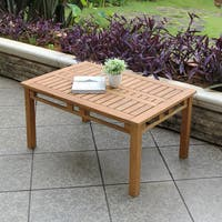 Havenside Home Goodwin Teak Coffee Table