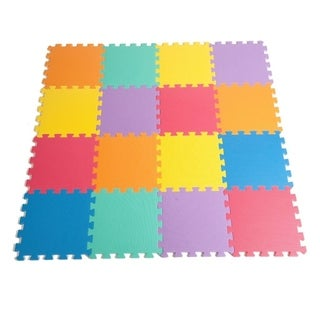 Zoeshare Puzzle Play Mat for Kids Foam Mat,16 Piece