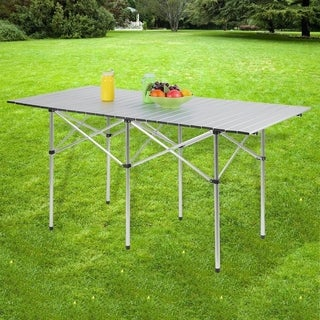 Portable Outdoor Camping Table with Bag Roll Up Mesa