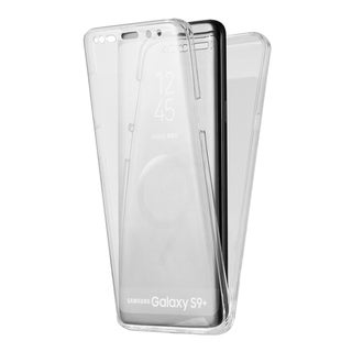 Samsung Galaxy S9 Plus Full Protection 2Pc Wrap-Up Tpu Case - Clear