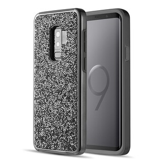 Samsung Galaxy S9 Plus Diamond Platinum Collection Hybrid Bumper Case