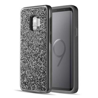 Samsung Galaxy S9 Diamond Platinum Collection Hybrid Bumper Case