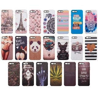 Iphone 8 / 7 Plus Art 2nd Pop Series 3D Embossed Hybrid Case