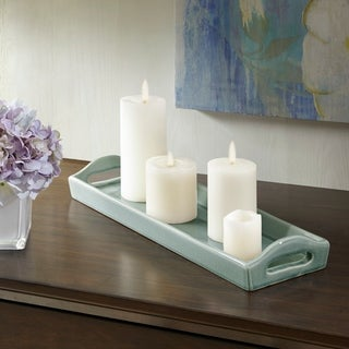 Madison Park Trice Grey Ceramic Plate