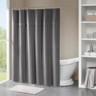 Buy Grey Shower Curtains Online At Overstock
