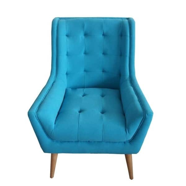 Phenomenal Shop Palm Canyon Janet Tufted Fabric Wingback Chair Mid Short Links Chair Design For Home Short Linksinfo
