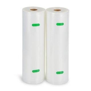 """Vacuum Sealer Food Storage Roll - 2 Roll Pack (8"""" x 50')"""