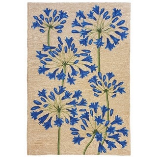 Agapanthus Outdoor Rug (7'6 x 9'6) - 7'6 x 9'6